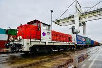Tren de marfa China - Franta