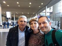 Selfie cu parintii Simonei Halep