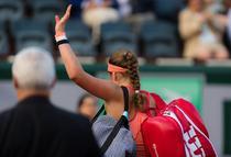 Jelena Ostapenko, eliminata in primul tur la Roland Garros