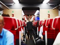 Intr-un tren austriac de scurta distanta