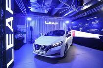 Prezentare Nissan Leaf in Romania