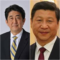 Shinzo Abe si Xi Jinping