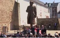 Statuie a lui Karl Marx dezvelita in Germania