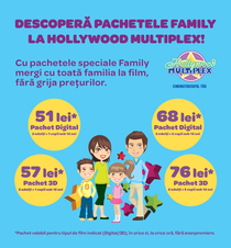 Promotia Family de la Hollywood Multiplex