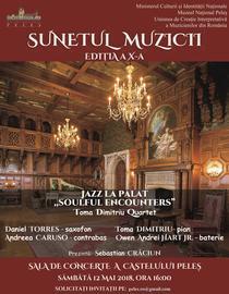 Toma Dimitriu Quartet canta la Castelul Peles