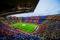 Camp Nou la El Clasico