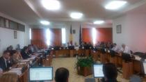 Imagine din timpul sedintei de marti a comisiei de buget a CD