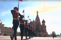 Parada militara ruseasca de Ziua Victoriei