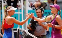 Caroline Wozniacki si Kiki Bertens