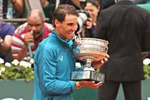 Rafael Nadal si undecima