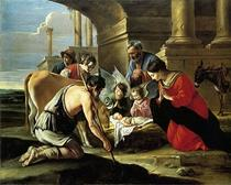 Adoration of the Shepherds (fratii Le Nain)