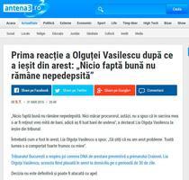 Reactie Olguta Vasilescu