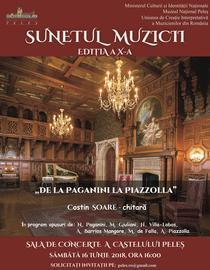 De la Paganini la Piazzolla - recital Costin Soare