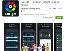 Aplicatia La Liga