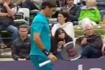 Roger Federer, la Stuttgart
