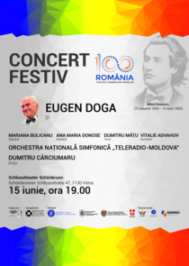 Concert Eugen Doga la Palatul Schönbrunn
