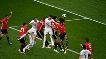 Gimenez, gol decisiv pentru Uruguay