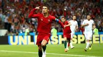 Cristiano Ronaldo si bucuria golului