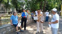 Protest contra lui Dancila la Constanta