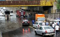 Strazi inundate dupa ploile abundente