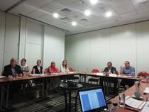 Imagine din timpul conferintei