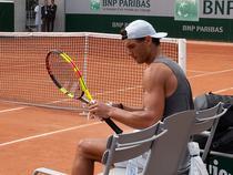 Rafael Nadal, la antrenament (10)