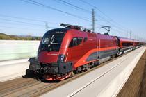 Tren austriac de mare viteza Railjet