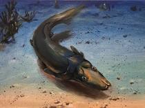 Brindabellaspis, un peste straniu care a trait acum 400 milioane de ani
