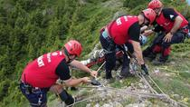 Turist ceh salvat de salvamontisti