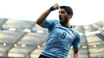 Luis Suarez, in tricoul nationalei tarii sale
