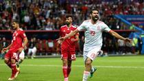 Diego Costa, autorul unicului gol in partida cu Iran
