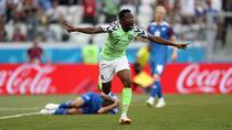 Ahmed Musa, gol pentru Nigeria