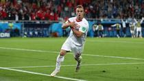 Shaqiri a adus victoria Elvetiei in partida cu Serbia
