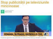 Captura petitie A3-Romania TV