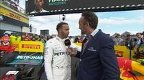 Lewis Hamilton, invingator in Franta