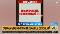 Antena 3, atac la Pro TV (captura)