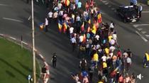 Mars de protest in Sibiu