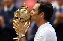 Roger Federer, invingator la Wimbledon in 2017
