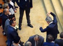 Un parlamentar PSD se maimutareste in sala de plen