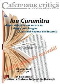 Ion Caramitru la Cafeneaua critica