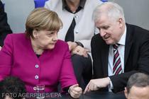 Angela Merkel si Horst Seehofer