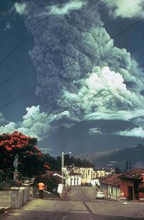 Eruptia vulcanului Fuego din 1974