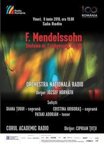 Concert Mendelsson - Sala Radio