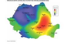 Harta riscurilor seismice, potrivit Bancii Mondiale