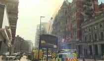Incendiu la un hotel din Londra