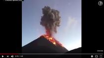 Eruptia vulcanului Fuego