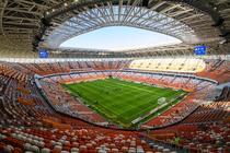 Unul dintre stadioanele gazda pentru Cupa Mondiala 2018