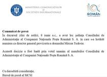 Comunicat MCSI
