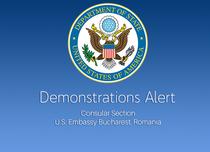 alerta Ambasadei SUA