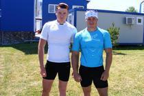 Leonid Carp si Victor Mihalachi